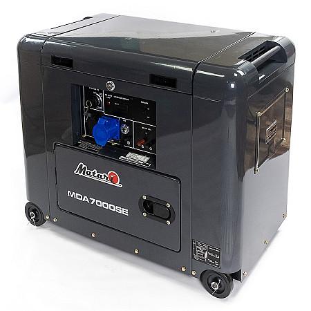 Дизельный генератор Matari MDA7000SE - фото 3
