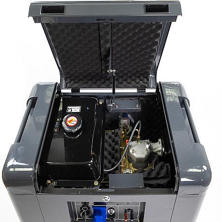 Дизельный генератор Matari MDA7000SE - фото 5