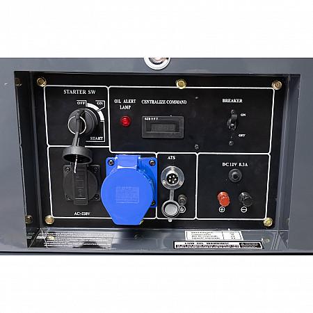 Дизельный генератор Matari MDA8000SE - фото 6