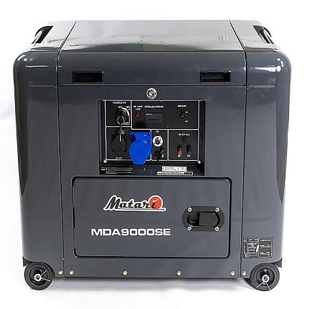 Дизельный генератор Matari MDA9000SE - фото 6