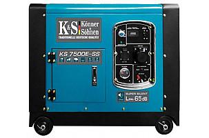 Новый бензогенератор 7 кВт в капоте от Könner&Söhnen