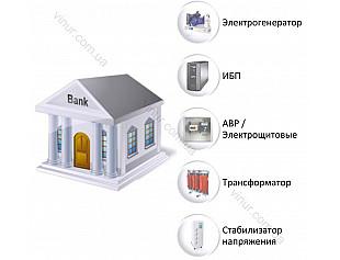 Решения по автономному электроснабжению для банковского сектора