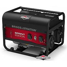 Бензогенератор 1,7 кВтBriggs&Stratton Sprint 2200A открытого типа