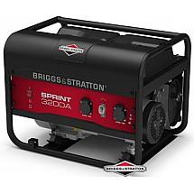 Генератор бензиновый 2,5 кВтBriggs&Stratton Sprint 3200A открытого типа