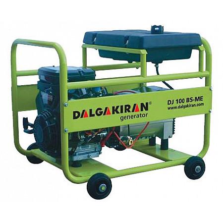 Электростанция бензиновая DALGAKIRAN DJ100BS-TE открытого типа