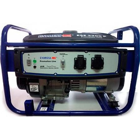 Генератор бензиновый 2 кВт ENDRESS ESE 3200 P открытого типа