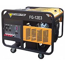 Бензиновый генератор 7 кВт Forte FG12E3 открытый