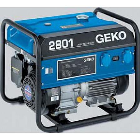 Бензиновый генератор 2,5 кВт Geko 2801 E-A/MHBA открытого типа