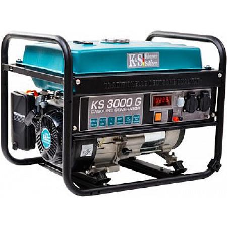Генератор бензиновый 3 кВт KÖNNER&SÖHNEN KS 3000G открытого типа