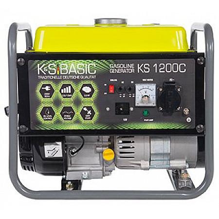 Бензиновая электростанция 1 кВт KÖNNER&SÖHNEN KS 1200С открытого типа