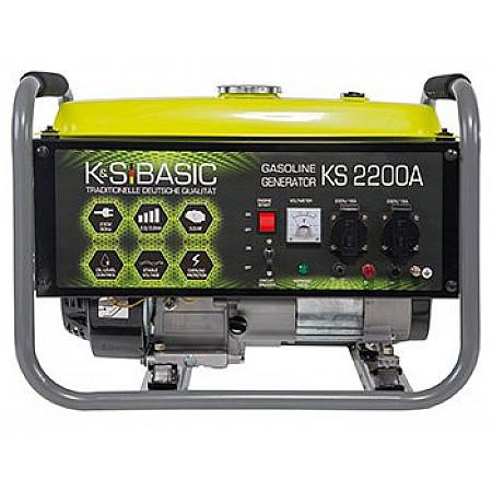 Генератор бензиновый 2,2 кВт KÖNNER&SÖHNEN KS 2200A открытого типа