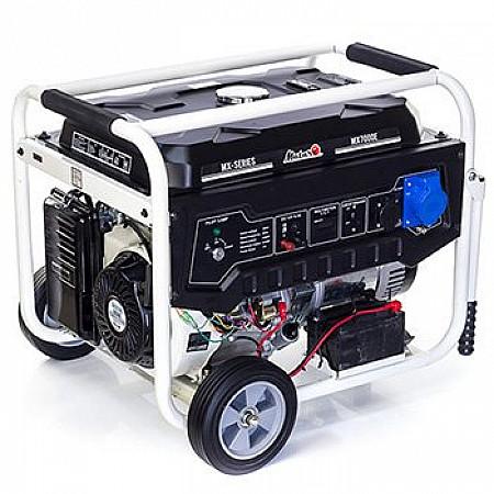 Бензиновая электростанция 5,5 кВт Matari MX7000E открытого типа