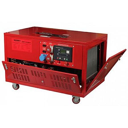 Электростанция бензиновая 17 кВт Vitals EST 15.0bat в кожухе