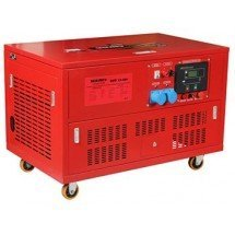 Бензогенератор 17 кВт Vitals EST 15.0bt в кожухе