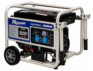 Новые бензиновые генераторы 5 кВт и 7 кВт торговой марки Malcomson