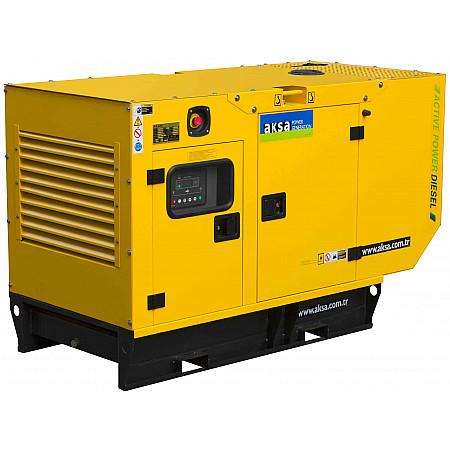 Электрогенератор дизельный AKSA APD20A в кожухе