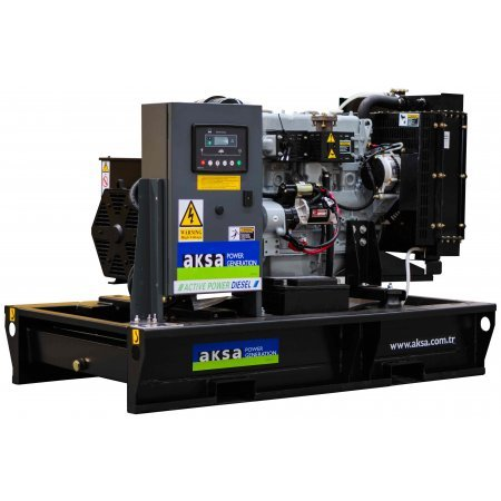 Дизельный генератор 20 кВт AKSA APD25A открытого типа