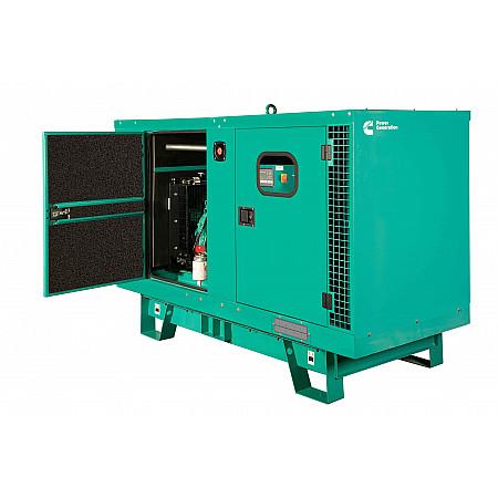 Дизельный генератор 30 кВт CUMMINSC38D5 в кожухе