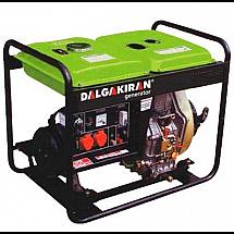 Дизельная электростанция DALGAKIRAN DJ7000DG-E открытого типа
