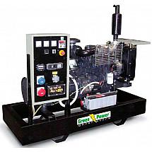 Генератор дизельный 100 кВт GREEN POWER GP135I-N открытого типа