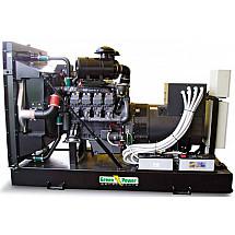 Генератор дизельный 200 кВт GREEN POWER GP280I-N открытого типа