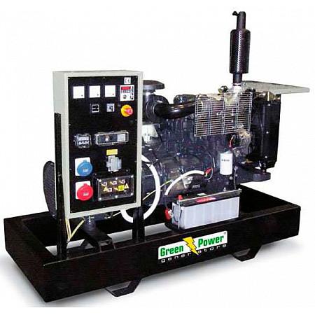 Генератор дизельный 60 кВт GREEN POWER GP84I-N открытого типа