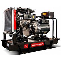 Электрогенератор дизельный 30 кВт HIMOINSA HYW-35 T5 открытого типа