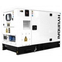 Электрогенератор дизельный 35 кВт HYUNDAI DHY45KSE в кожухе