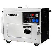 Генератор дизельный 5 кВт HYUNDAI DHY 6000SE в кожухе