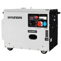 Дизельная электростанция 5 кВт HYUNDAI DHY 6000SE-3 в кожухе