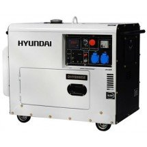Электрогенератор дизельный 6 кВт HYUNDAI DHY 8000SE в кожухе