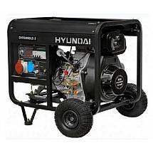 Дизельный генератор 5,5 кВт HYUNDAI DHY 6000LE-3 открытый