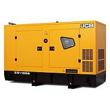 Дизельный генератор 92,8 кВт JCB G115QS в кожухе