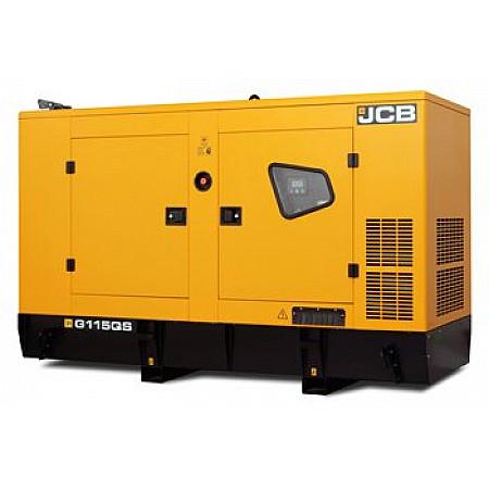 Дизельный генератор 92,8 кВтJCB G115QS в кожухе