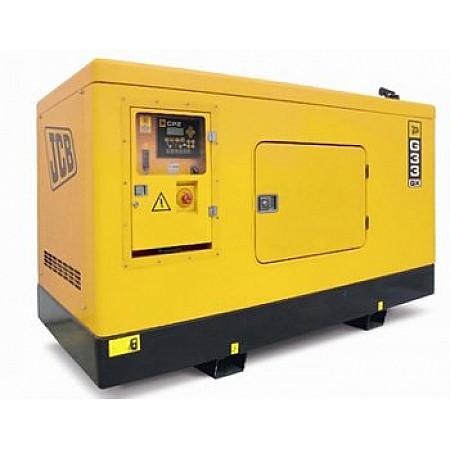 Электрогенератор дизельный 29,6 кВт JCB G33QX в кожухе