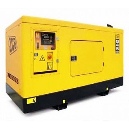 Дизель генератор 36,1 кВт JCB G45QX в кожухе