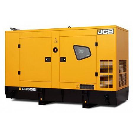 Дизельная электростанция 56,8 кВт JCB G65QS в кожухе