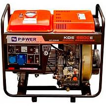 Дизельный генераторKJ POWERKDE5500E3 открытого типа