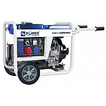 Дизель генератор 3,5 кВт KJ POWER KJ4500E3 открытый