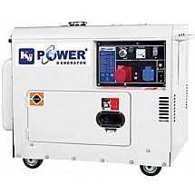 Дизельная электростанция 6 кВт KJ POWER KJ6500T3 в кожухе