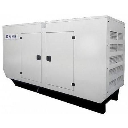 Электрогенератор дизельный 30 кВт KJ POWER KJA 40 в кожухе