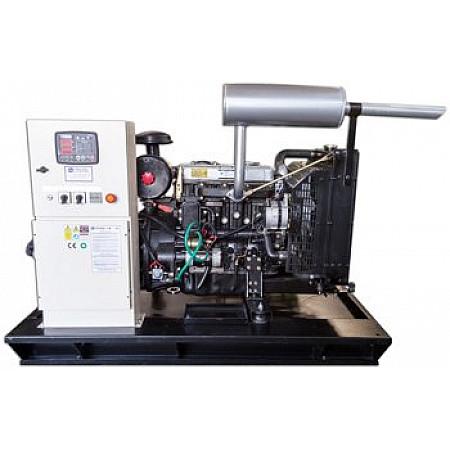 Дизельный генератор 12 кВт KJ POWER KJT 15 открытого типа
