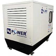 Дизель генератор 10 кВт KJ POWER KJT 12 в кожухе