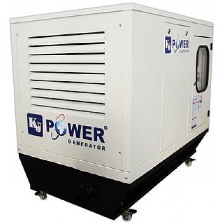 Электрогенератор дизельный 16 кВт KJ POWER KJT 20 в кожухе