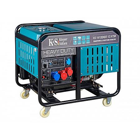 Дизельный генератор Heavy Duty KS 14100HDE ATSR 1/3