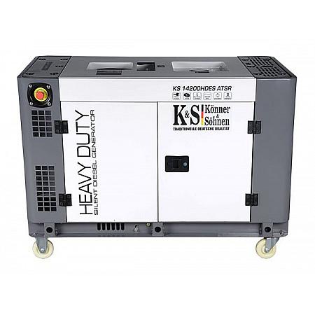 Дизельный генератор Heavy Duty KS 14200HDE ATSR