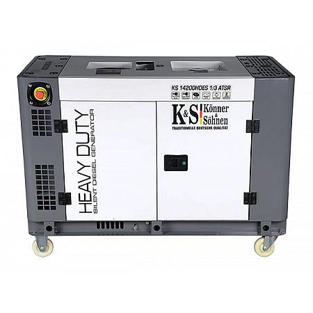 Дизельный генератор Heavy Duty KS 14200HDE ATSR 1/3