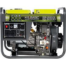 Дизель генератор 5 кВт Könner&Söhnen KS 6000D  открытого типа