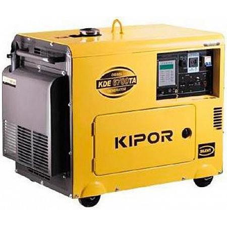 Генератор дизельный 5 кВт KIPOR KDE6700TAO
