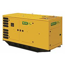 Дизельный генератор 500 кВт M.A.B. POWER SYSTEMS AD660в кожухе